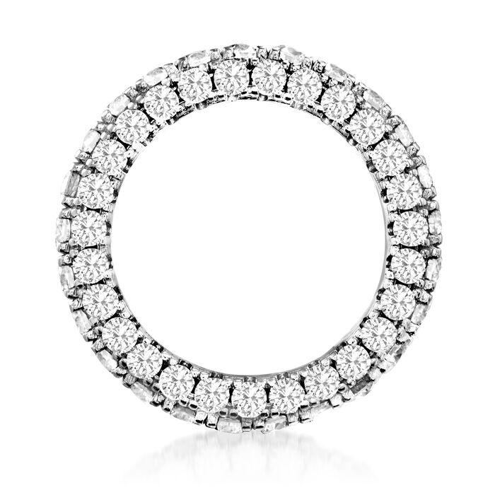 5.00 ct. t.w. CZ Eternity Band in Sterling Silver