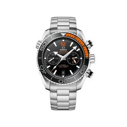 Omega Seamaster Planet Ocean Men's 45.5mm Stainless Steel Watch With Black Dial, , default