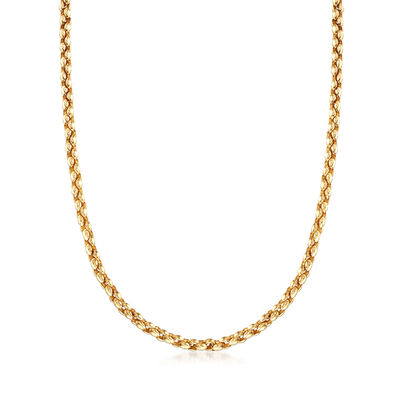 C. 1993 Vintage Cartier Link-Chain Necklace in 18kt Yellow Gold, , default