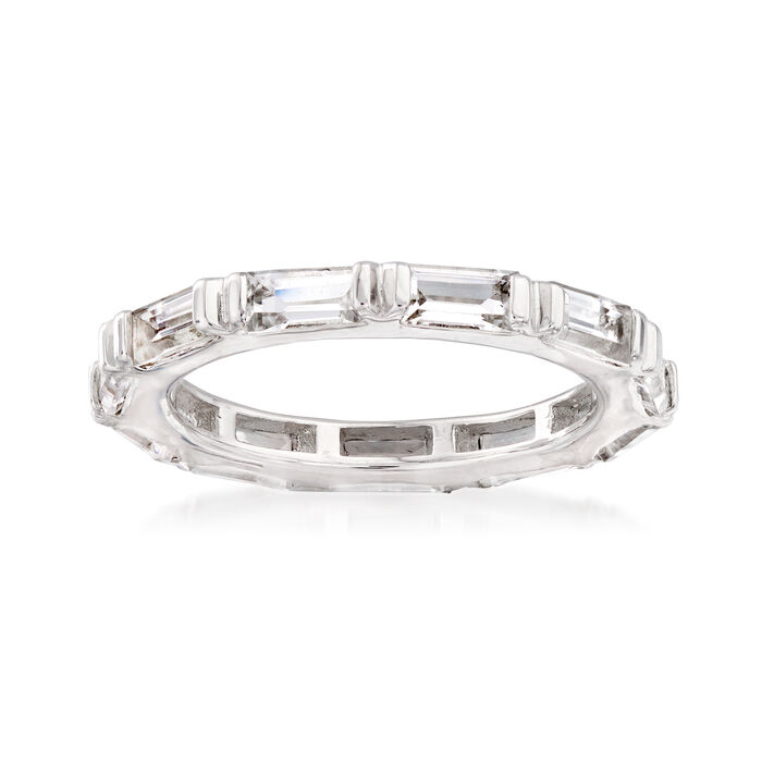 2.50 ct. t.w. White Topaz Eternity Ring in Sterling Silver, , default