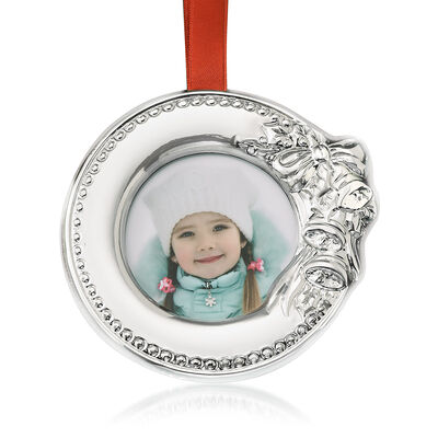 Reed & Barton 2019 Photo Frame Ornament from Italy, , default