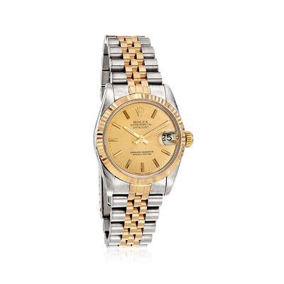 Pre-Owned Rolex Datejust Women's 31mm Automatic Watch in Two-Tone , , default