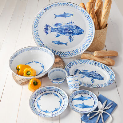 Fish Camp by Golden Rabbit Dinnerware, , default