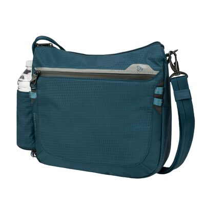 "Travelon ""Anti-Theft Active"" Teal Nylon Medium Crossbody"