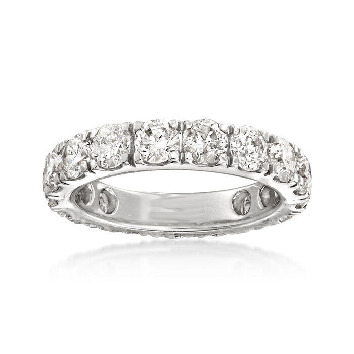 4.00 ct. t.w. Diamond Eternity Band in 14kt White Gold, , default