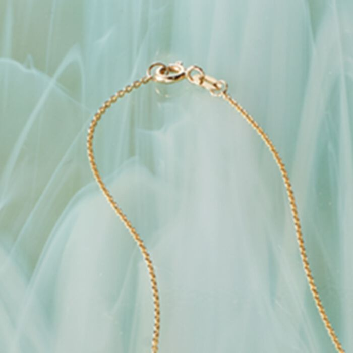.20 ct. t.w. Diamond Station Necklace in 14kt Yellow Gold