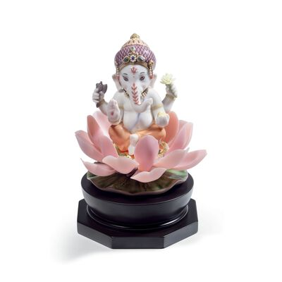 "Lladro ""Padmasana Ganesha"" Porcelain Figurine , , default"