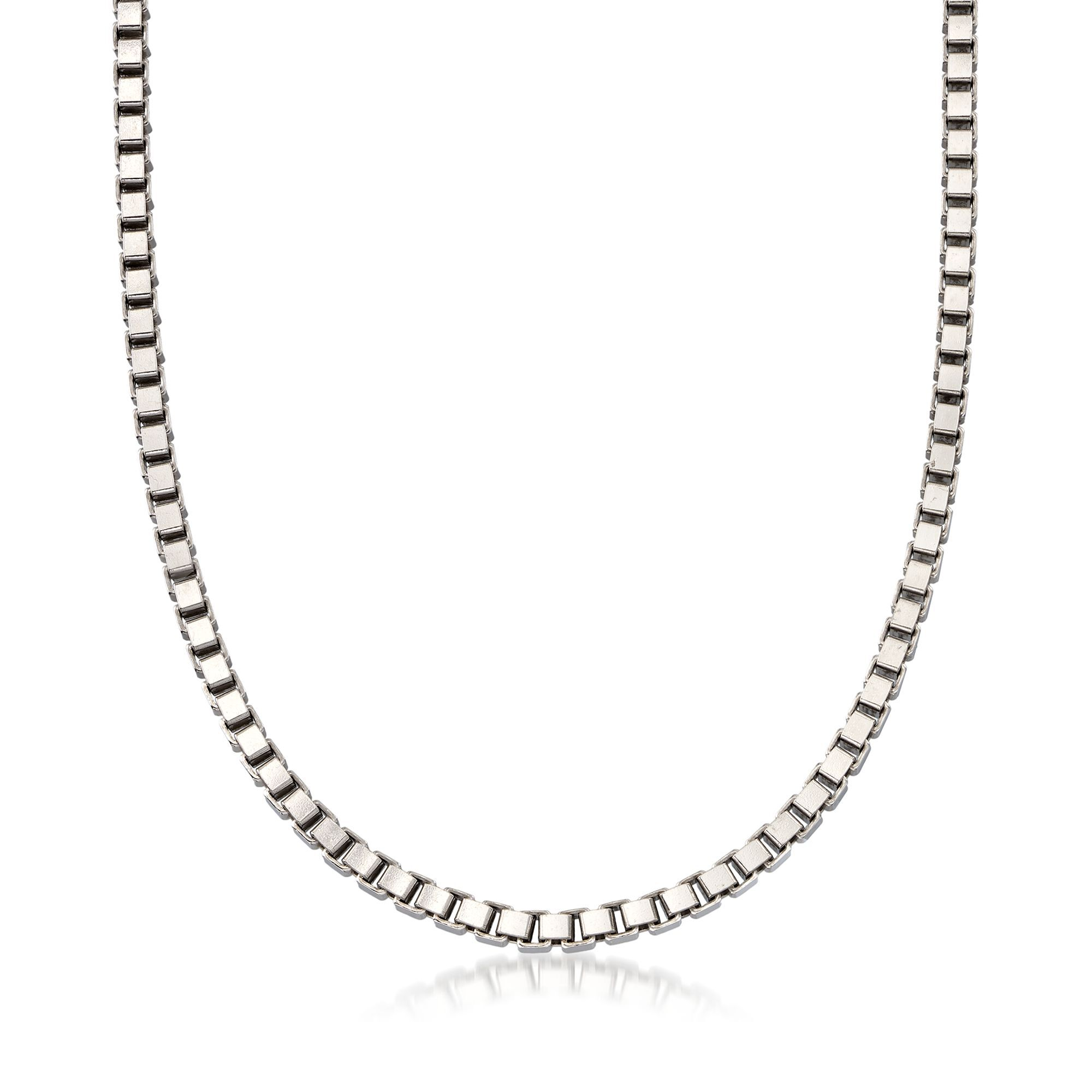 Sterling Silver Girls .8mm Box Chain Family With One Child Pendant Necklace