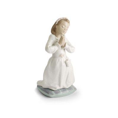 "Lladro ""Communion Prayer Girl"", , default"
