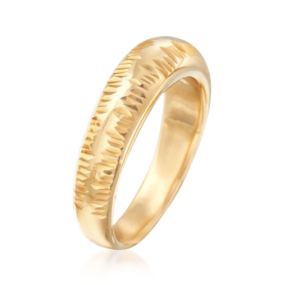 White & Yellow Gold Rings. As the ultimate symbol of love, the gold ring is well honored at Ross-Simons. From Italy and all the world's gold markets, we seek and create the best white gold and yellow gold ring designs, for every style and budget.