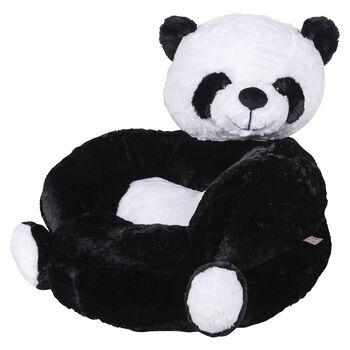 Children's Plush Panda Character Chair, , default