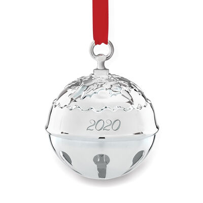 Reed and Barton 2019 Annual Holly Bell Ornament - 45th Edition