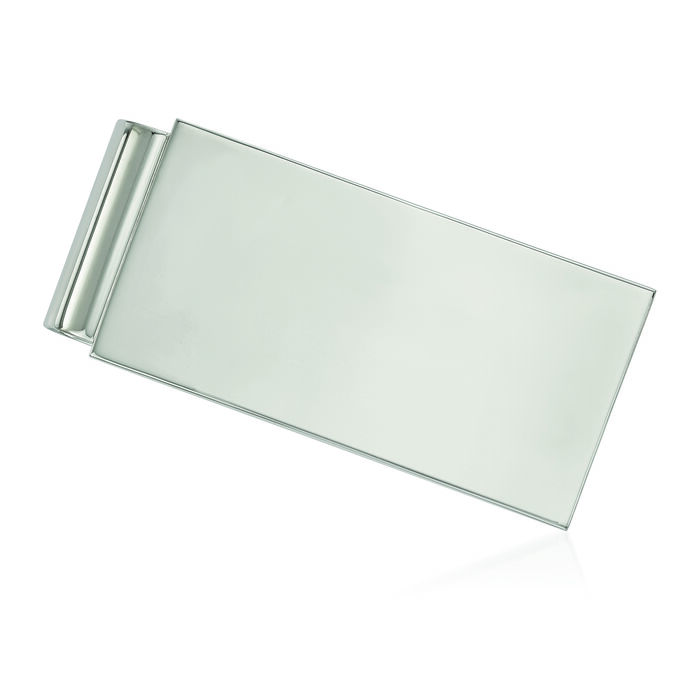 Stainless Steel Polished Money Clip, , default