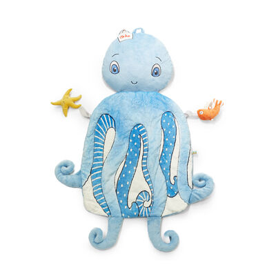 "Bunnies by the Bay ""Ocho the Octopus"" Baby 3-In-1 Pillow Play Mat"