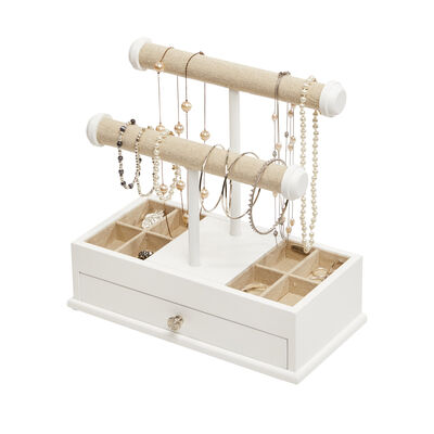 "Mele & Co. ""Ivy"" White Jewelry Organizer, , default"