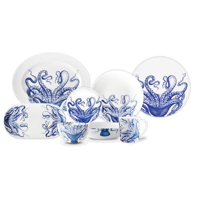 "Caskata ""Blue Lucy"" Blue and White Porcelain Dinnerware, , default"