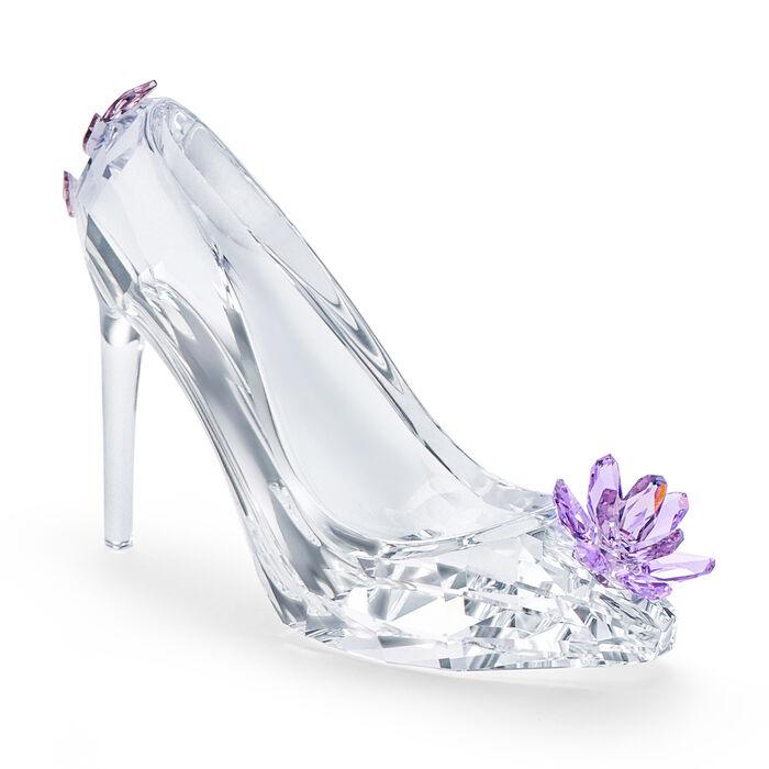 "Swarovski Crystal ""Moments"" Shoe with Flower Figurine"