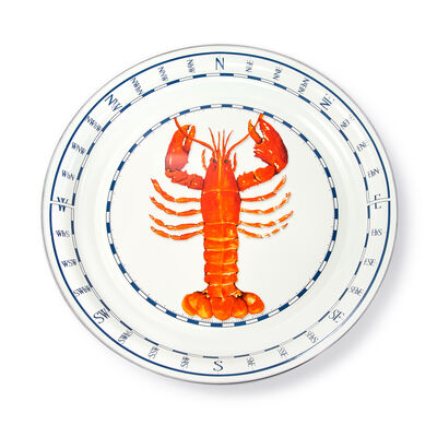 "Golden Rabbit ""Lobster"" Large Tray, , default"