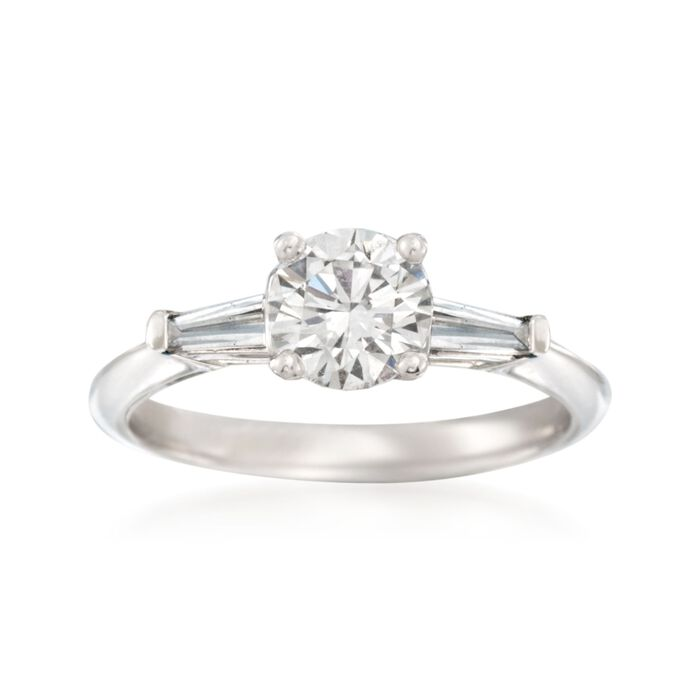1.36 ct. t.w. Certified Diamond Engagement Ring in 14kt ... - photo #26
