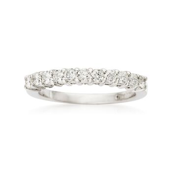 .50 ct. t.w. Diamond Wedding Ring in 14kt White Gold, , default