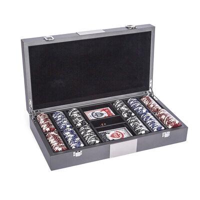 "Brouk & Co. ""Bradford"" 300-Chip Poker Set"