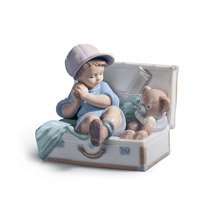 "Lladro ""My Favorite Place"" Porcelain Figurine"
