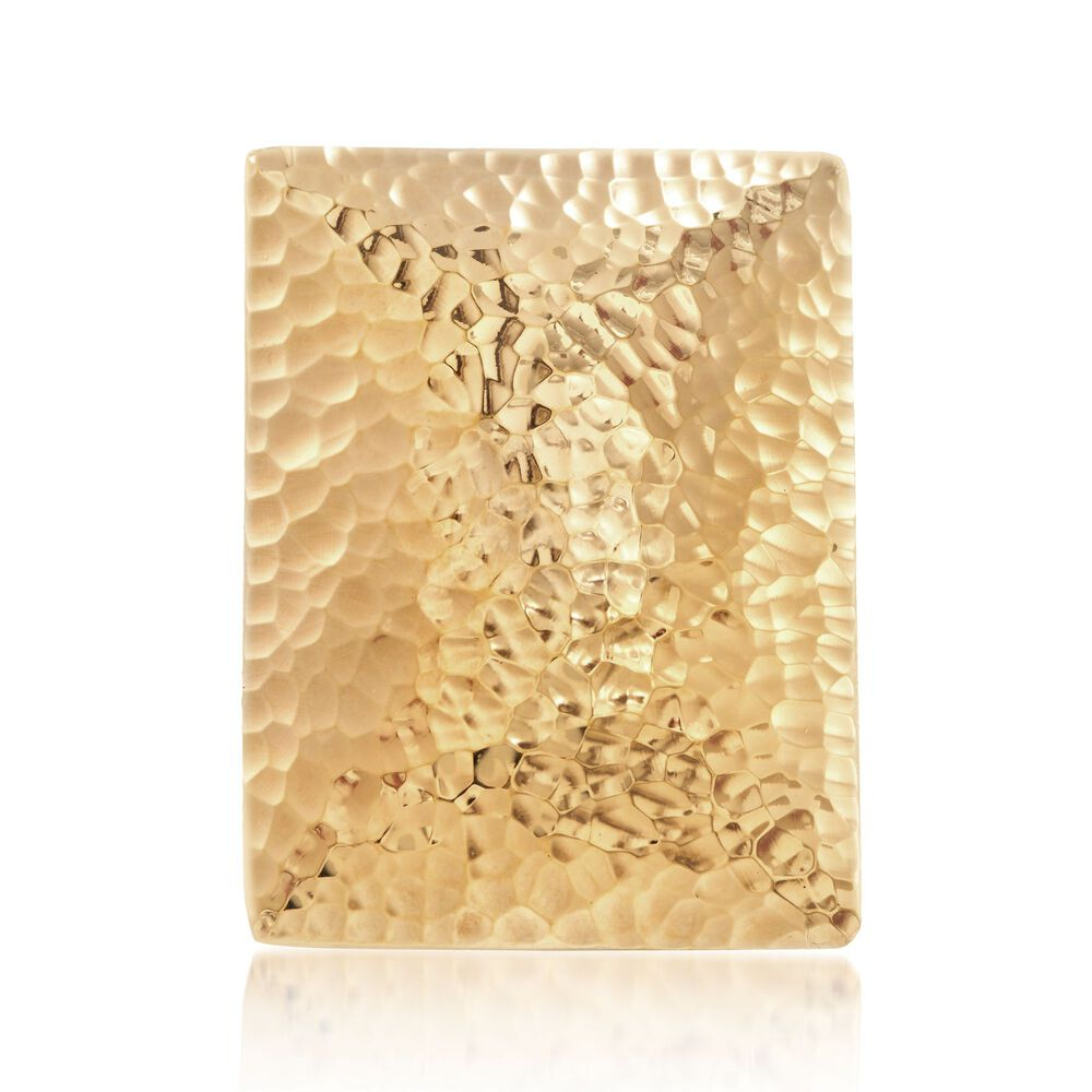 Andiamo 14kt Gold Hammered Rectangular Statement Ring   Ross Simons 1285484ca38