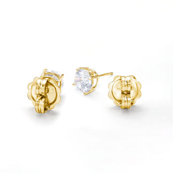 Italian 14kt Yellow Gold X-Large 9mm Earring Backings, , default