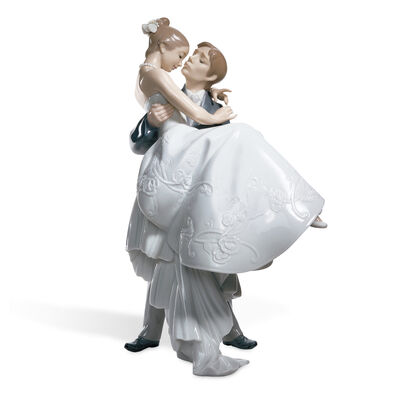 "Lladro ""The Happiest Day"" Porcelain Figurine, , default"