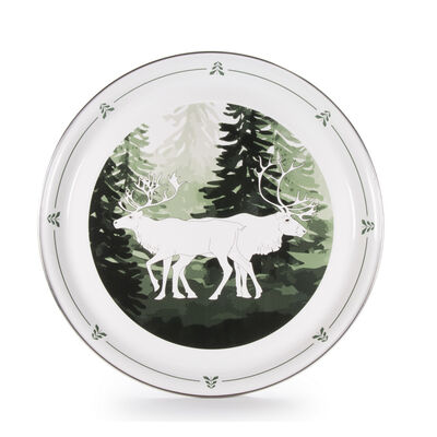 "Golden Rabbit ""Forest Glen"" Medium Tray, , default"