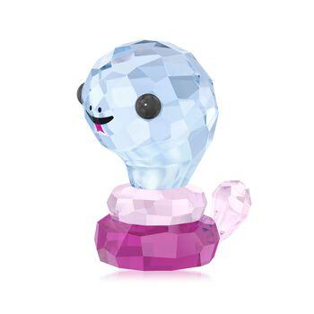 "Swarovski Crystal ""Protective Snake - Chinese Zodiac"" Crystal Figurine , , default"