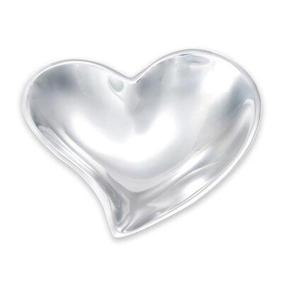 Mariposa Small Aluminum Heart Bowl, , default
