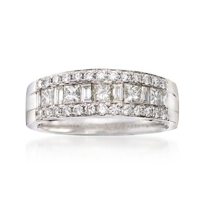 1.00 ct. t.w. Diamond Ring in 18kt White Gold, , default