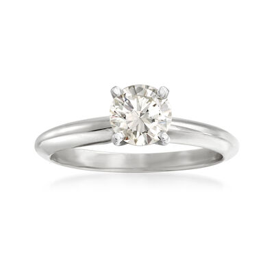 .62 Carat Certified Princess-Cut Diamond Ring in 14kt White Gold