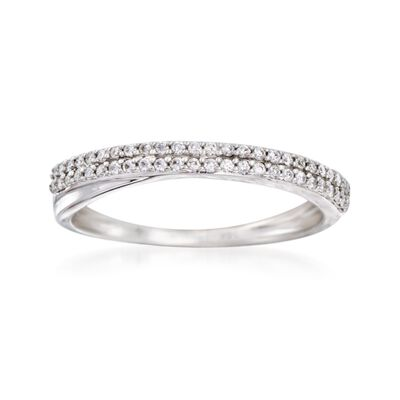 .20 ct. t.w. Diamond Wedding Band in 14kt White Gold, , default