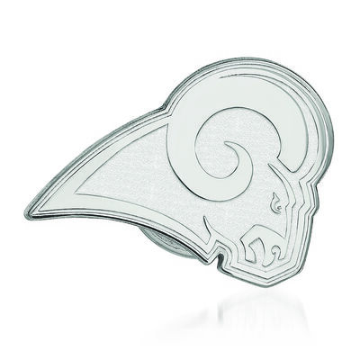 Sterling Silver NFL Los Angeles Rams Lapel Pin