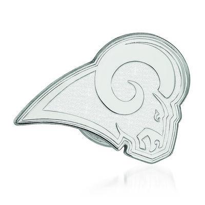 Sterling Silver NFL Los Angeles Rams Lapel Pin, , default