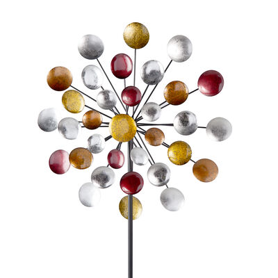 "Regal ""Galaxy"" Outdoor Decorative Garden Wind Spinner, , default"