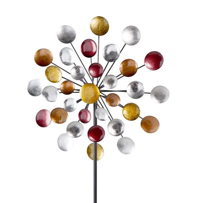 "Regal ""Galaxy"" Outdoor Decorative Garden Wind Spinner, , default"