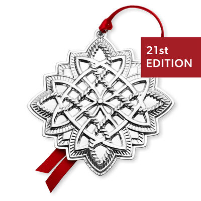 Towle 2020 Sterling Silver Celtic Ornament - 21st Edition