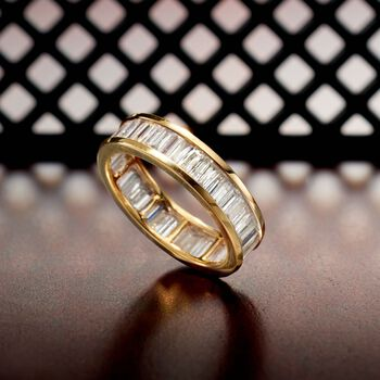 2.00 ct. t.w. Baguette Diamond Eternity Band in 14kt Yellow Gold, , default