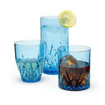 """Aurora"" Topaz Blue Acrylic Drinkware, , default"
