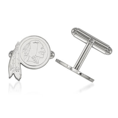 Sterling Silver NFL Washington Redskins Cuff Links, , default