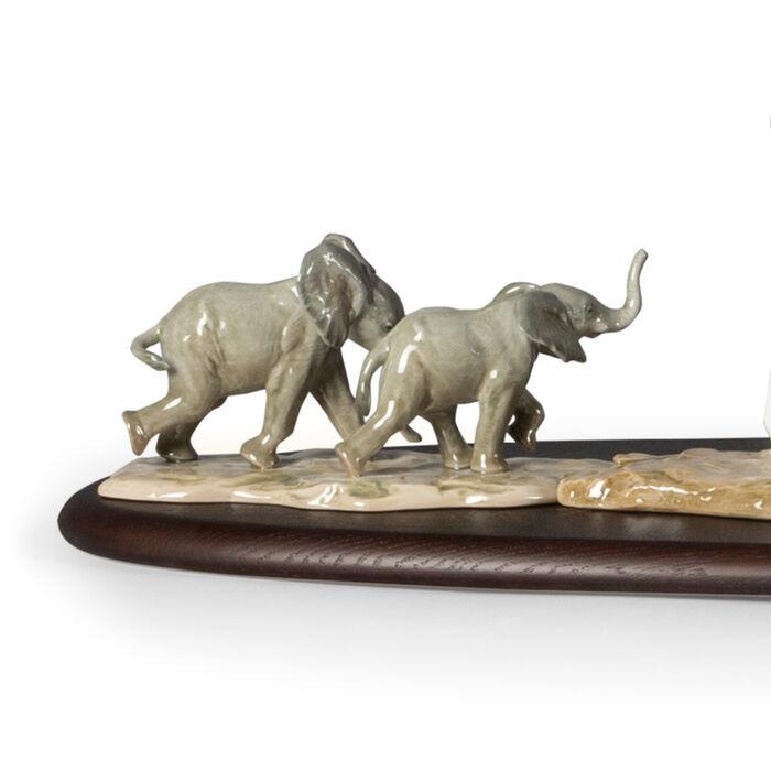 Lladro African Savannah Porcelain Figurine Set