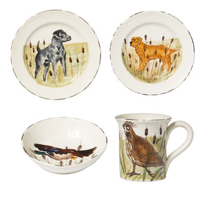"Vietri ""Wildlife"" Assorted Dinnerware from Italy, , default"