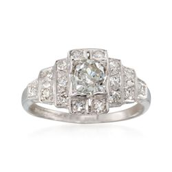 C. 2000 Vintage 1.00 ct. t.w. Diamond Ring in Platinum, , default