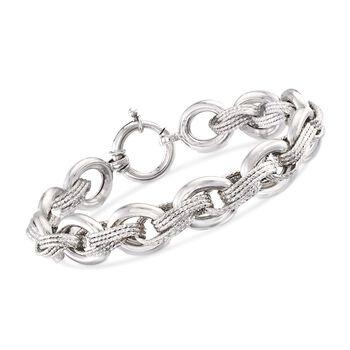 """Sterling Silver Multi-Link Bracelet. 7"""", , default"""