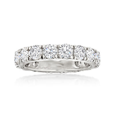 4.00 ct. t.w. Diamond Eternity Band in 14kt White Gold