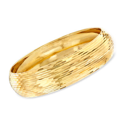 Italian Bangle Bracelet in 14kt Yellow Gold