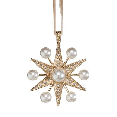 Joanna Buchanan Sputnik Pearl Star Ornament, , default
